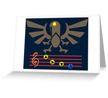 Song of the Songbird (Alt version. No bolts) Greeting Card