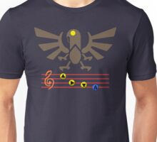 Song of the Songbird (Alt version. No bolts) Unisex T-Shirt
