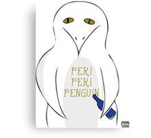 Peri peri penguin Canvas Print