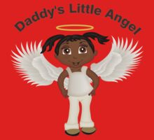 Daddy's Little Angel Girl 1 One Piece - Short Sleeve