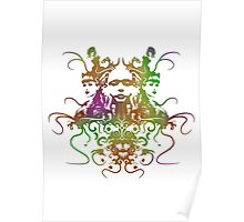 Rorschach Abstract Psychedelic #1 Poster