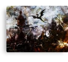 Dragon Realms II Canvas Print
