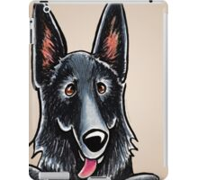 Black GSD Design for Tablet Cases iPad Case/Skin