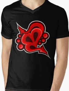 Street Love Mens V-Neck T-Shirt
