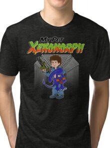 My Pet Xenomorph Tri-blend T-Shirt