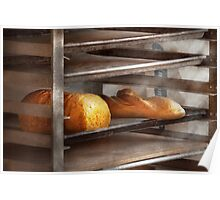 Kitchen - Food - Bread - Freshly baked bread  Poster