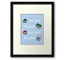 1 Shell 2 Shell Framed Print