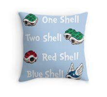 1 Shell 2 Shell Throw Pillow
