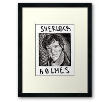 Sherlock Holmes RULES Framed Print