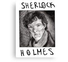 Sherlock Holmes RULES Canvas Print