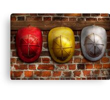 Fireman - Hats - Pick a hat, any hat  Canvas Print