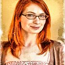 Felicia Day by Joe Misrasi