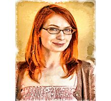 Felicia Day Photographic Print
