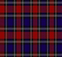 01007 Clark,  Red Clan/Family Tartan Fabric Print Iphone Case by Detnecs2013