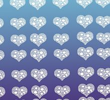 spiral hearts by Scarletraven