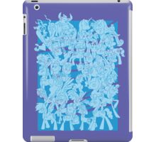 mlp - Rainbow dash blue iPad Case/Skin