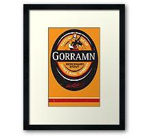 Jayne's Gorramn Stout! Framed Print