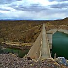 Elephant Butte Dam by Sheryl Langston