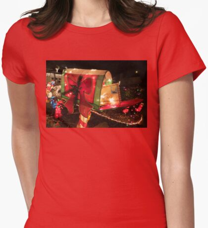 Letter To Santa Womens Fitted T-Shirt