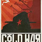 Dalek Cold War Poster &quot;Oh My Red Stars&quot; by ToneCartoons