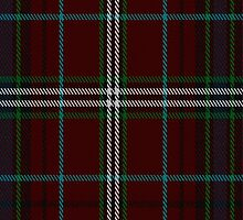 01022 Clifford Clan/Family Tartan Fabric Print Iphone Case by Detnecs2013