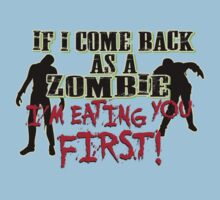 Zombie Eating You First by GeekLab