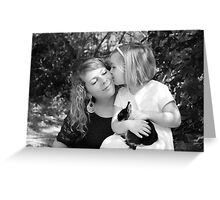 Mother Daughter Love Greeting Card