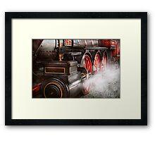 Train - Let off some steam  Framed Print
