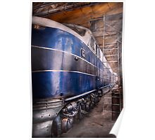Train - The maintenance facility  Poster