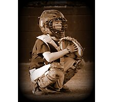 young catcher Photographic Print