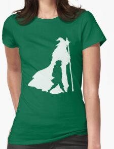 On an Adventure - inverted Womens Fitted T-Shirt