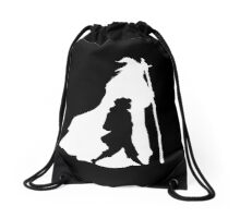On an Adventure - inverted Drawstring Bag