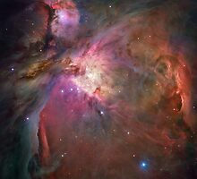 Orion Nebula by Scarletraven