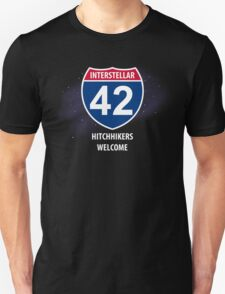 Hitchhikers Welcome T-Shirt