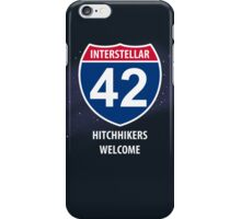 Hitchhikers Welcome iPhone Case/Skin