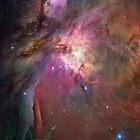 Orion Nebula by Scarletraven
