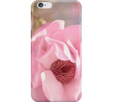 Pastel Pink Petals and Paint iPhone Case/Skin