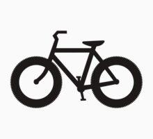 Fat Bike Silhouette Baby Tee