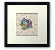 Born the Line Framed Print