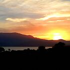 Mt Wellington sunset - Hobart, Tasmania by PC1134