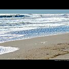 Atlantic Ocean Silver Waves - Hampton Bays, New York  by © Sophie Smith