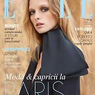 Primodels Review-Elle Romania April 2013 Cover by primodels