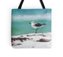 Beach Yoga - Third Pose Tote Bag