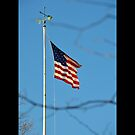United States Of America Flag - Boston Strong - Love From Long Island, New York by © Sophie W. Smith