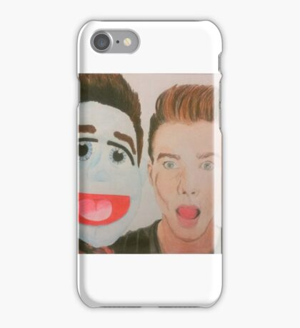 Chris Colfer Puppet iPhone Case/Skin