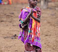 Young Masai Girl by CharlotteMorse