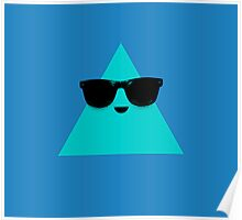 Cool Triangle Poster