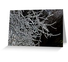 Branches Of Bling Greeting Card