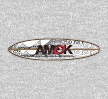 AMOK - tribal breaker surfboard Kids Clothes