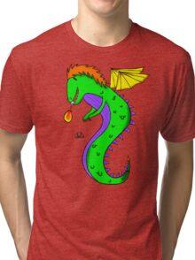 Little Dragon Friend Tri-blend T-Shirt